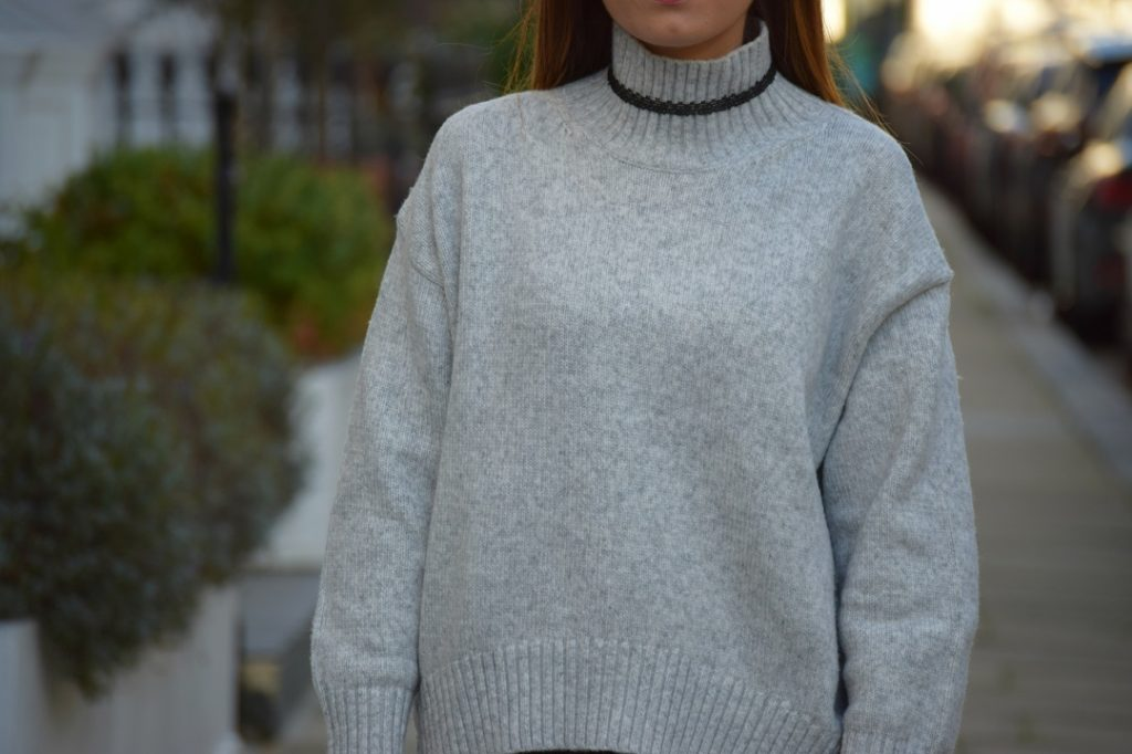 Grey Jumper H&M