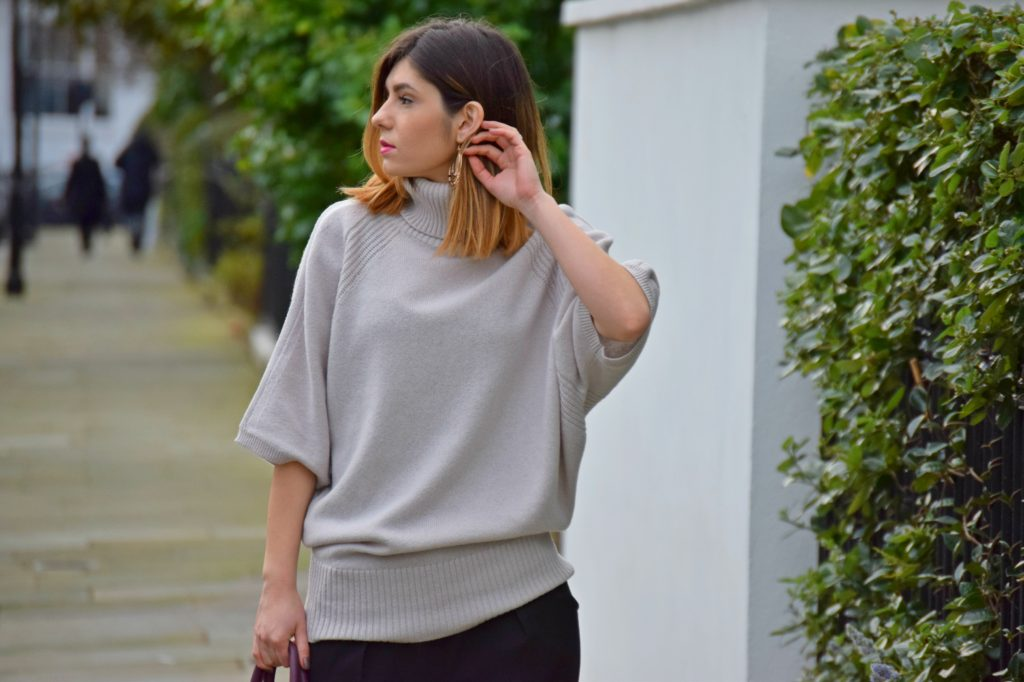 Slouchy Batwing Jumper
