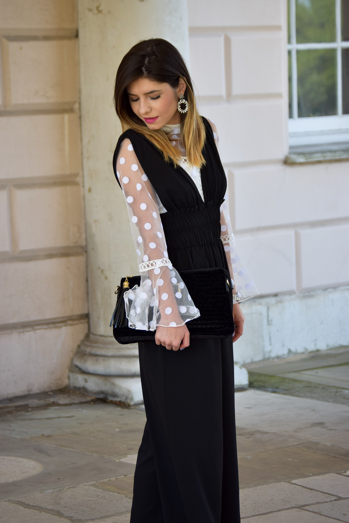 Monochrome Evening Outfit